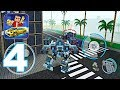 Block City Wars - Gameplay Walkthrough Part 4 - Titan Robots, Black Mass (Android Games)