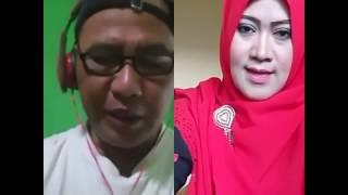 Gambar cover 'Kagembang' ku @Dewiselatan_712 disarengan penyanyi pop Sunda @RisdaCindey