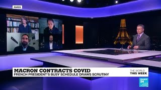 Macron contracts Covid, Biden wins again, Nigerian schoolboys freed, remembering John le Carré