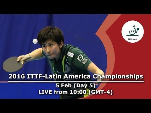 2016 ITTF-Latin American Championships - Day 5