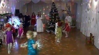 Танец жар-птицы девочки танцуют в Новый год в детском саду_28