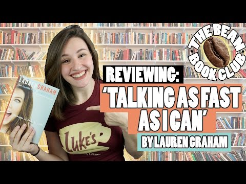 REVIEWING: 'TALKING AS FAST AS I CAN' | THE BEAN BOOK CLUB || Shut Up Kristen!