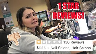 LICENSED NAIL TECH GOES TO THE WORST REVIEWED NAIL SALON IN HER CITY (part 2) *1 STAR* thumbnail