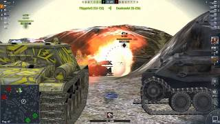 World Of Tanks Blitz Game Play (Indien-Panzer)