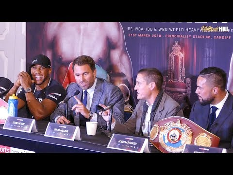 Anthony JOSHUA vs Joseph PARKER | FULL PRESS CONFERENCE | Heavyweight Title Fight! Boxing