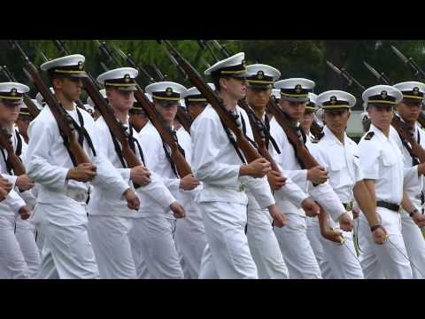 Class of 2018 3rd Plebe Parade - Pass in Review