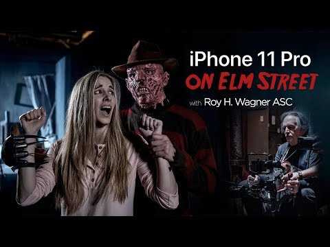 Freddy Krueger meets the iPhone11 Pro! (Behind the Scenes)