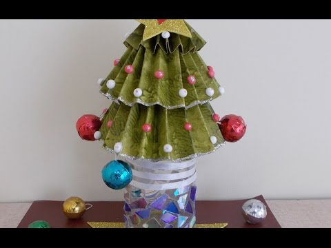 christmas craft ideas for kids easy christmas tree decorating in few minutes - Christmas Tree Decorations For Kids