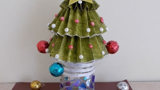 Christmas Craft Ideas for Kids : Easy Christmas Tree Decorating in Few Minutes !