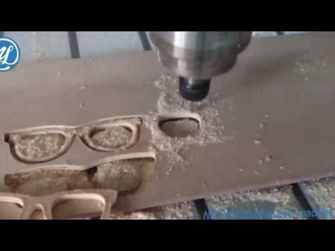 NDM1325 CNC router for wood glasses