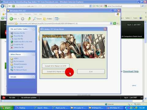 How To Get RPG Maker Vx Free, Download, Manage, And Use .RAR Files And Etc.