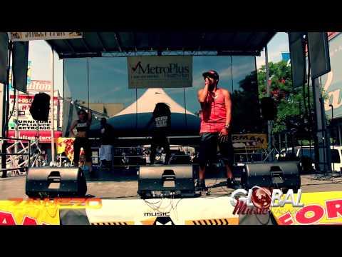ZAWEZO LIVE 3RD AVE IN THE BRONX  GLOBAL MUSIC MAG