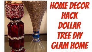 How To DIY Dollar Tree Home Decor Glam Fab Bling Creating Elegance For Less With Faithlyn 2019