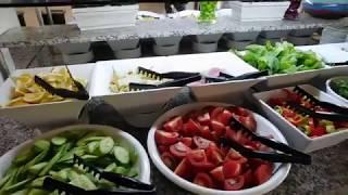 Завтрак в отеле Venus 4* Side#Турция#ИЮНЬ 2017