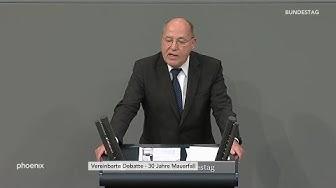 """Gregor Gysi (Die Linke) zu """"30 Jahre Mauerfall"""" am 08.11.19"""