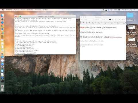 Digitalocean FTP bağlantısı wordpress vb.