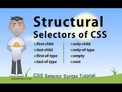 CSS Structural Selectors
