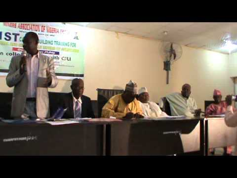Miners Association of Nigeria workshop PART 1