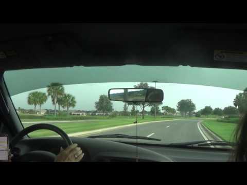 Driving around The Villages, FL June 2017