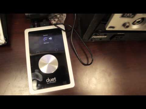 APOGEE DUET For IPad And Mac Overview
