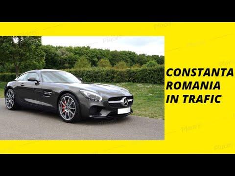 Constanta 2019 Constanta Romania 2018 Constanta City Tour Car Trafic Driving Travel Guide Visit
