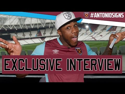ANTONIO PENS NEW DEAL WITH HAMMERS! ⚒