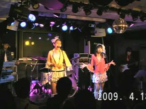 Harm' Charms「レモンのキッス」in LIVE BAR D3