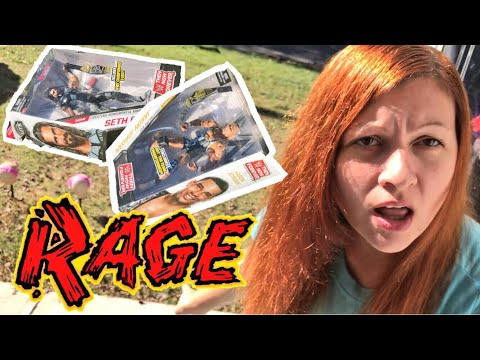SNEAKY PLAN FAILS PUTS HER IN A RAGE! GRIM BUYS WWE ELITES AT WALMART!