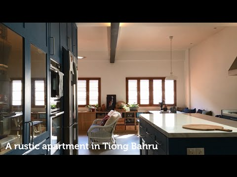 House Tour: A rustic-style walk-up apartment in Tiong Bahru
