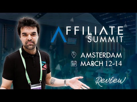 First Time In Amsterdam. Affiliate Summit Europe 2019 Review!