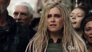 The 100 S3E4 || Lexa Fights Roan