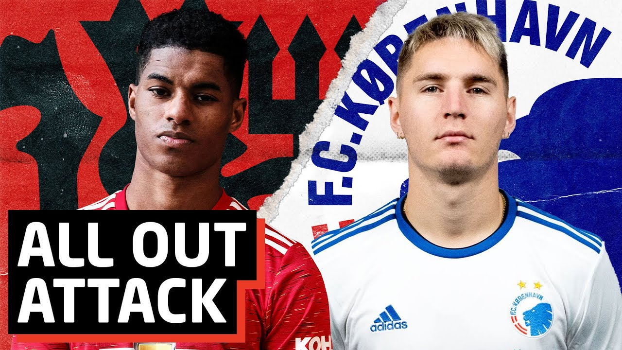 All Out Attack! | Manchester United vs FC Copenhagen Tactical Preview | Europa League