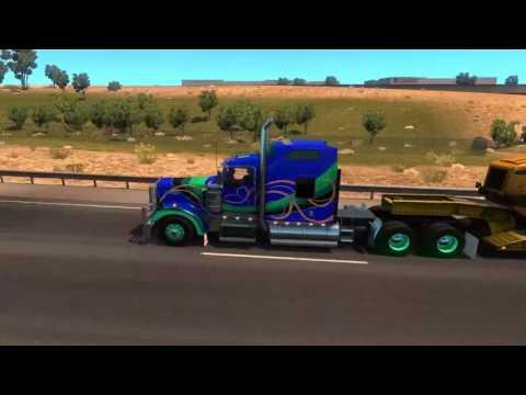 American Truck Simulator Ep17 - Lets Explore Arizona Part 2