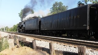 "Exclusive: NKP 765 Departs Allen Park, MI With ""Detroit Arrow"" Excursion Train"