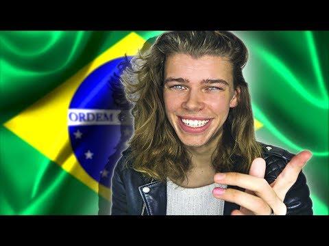 SPEAKING BRAZILIAN PORTUGUESE!