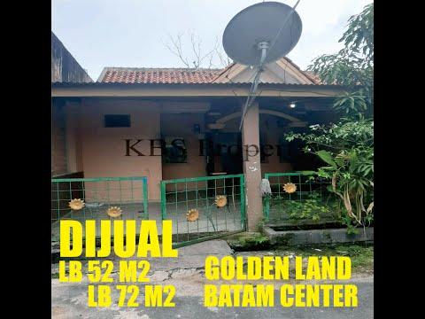 Dijual Rumah di Golden Land Batam Center type 52/72 l Info detail Lihat Descripsi
