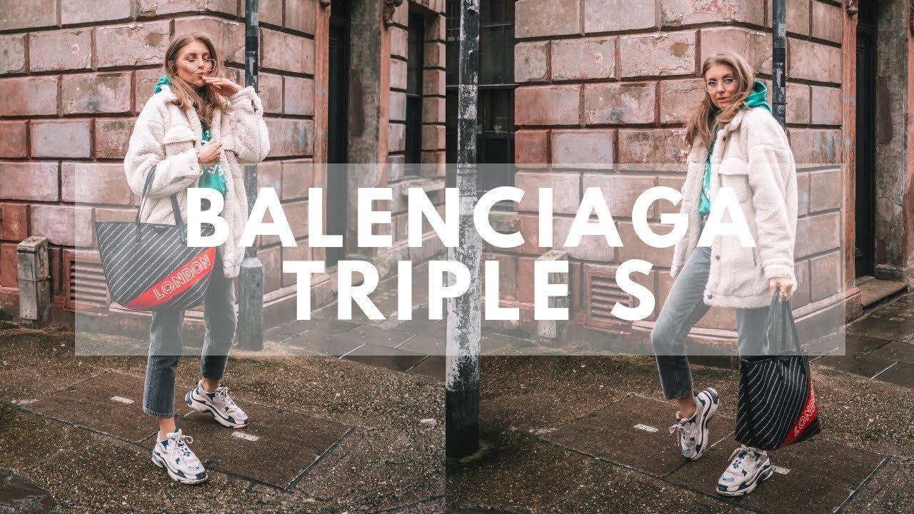 balenciaga triple s woman