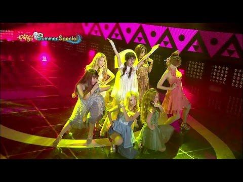 【TVPP】Lee Jung Hyun (AVA) - V, 이정현 - 브이 @ Summer Special, Show Music Core Live