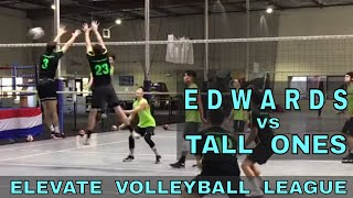 Edwards vs Tall Ones - EVL #2, Playoffs - Match 1 (Elevate Volleyball League 2018)