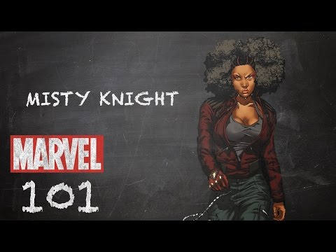 Strong Arm and a Good Eye – Misty Knight – Marvel 101