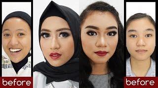 Tutorial Makeup Natural Untuk Pesta / Photoshoot dengan Sentuhan Lipstick Merah