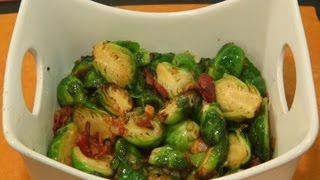 Pan Roasted Brussels Sprouts with Bacon(CLICK TO TWEET THIS VIDEO: http://clicktotweet.com/g9x3e Here is the recipe: Ingredients 4 strips thick-cut bacon 2 tablespoons butter 1 pound Brussels ..., 2013-09-17T14:30:03.000Z)