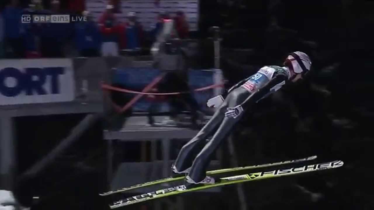 Unfall Skispringen