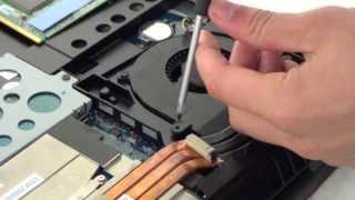 NVIDIA GeForce GTX 780M VGA upgrade in Alienware M17x R3
