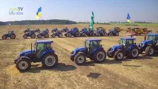 РЕКОРД УКРАЇНИ  - Найбільший тризуб з сільськогосподарської техніки