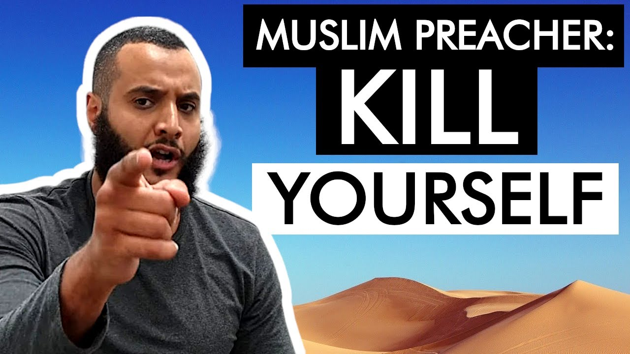 Muslim Apologist Says You Should Kill Yourself (Mohammed Hijab)