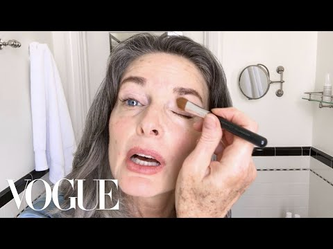 Watch This '80s Supermodel's Spectacular Age-Defying Beauty Routine | Beauty Secrets | Vogue