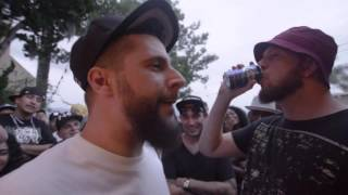 CAUSTIC vs MEGADEF - 4K RAP BATTLE