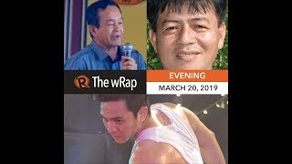 Robredo calls for social media regulation | Evening wRap thumbnail