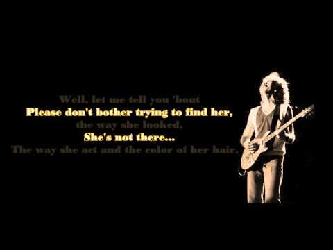 Santana  Shes Not There lyrics